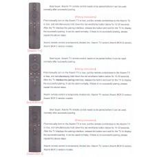 Remote control DC-900 for   XIAOMI BOX 3   -   XIAOMI TV  -  XIAOMI BOX S     Bluetooth