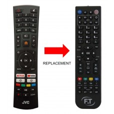 Remote control DC-219 for JVC